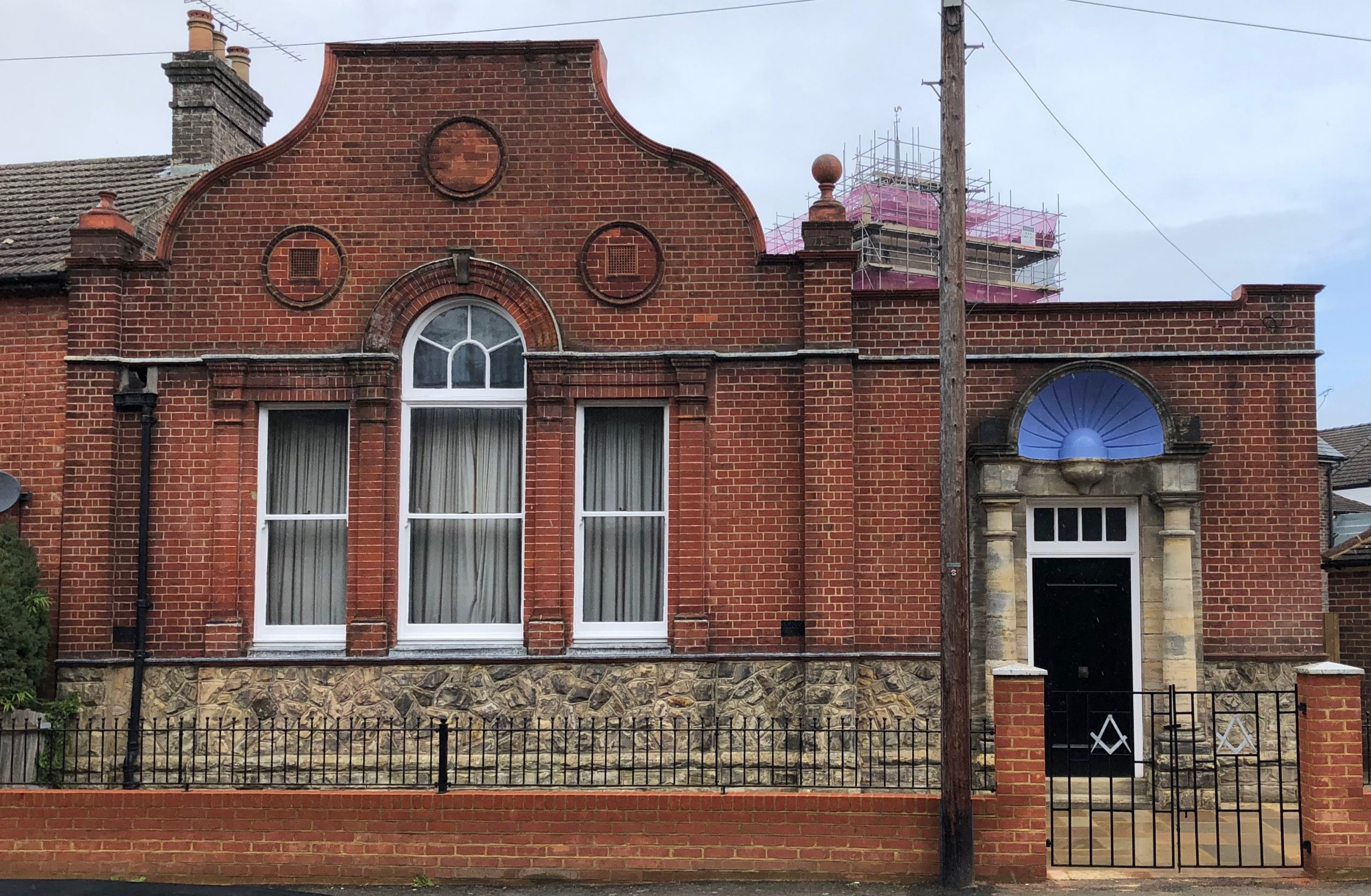 Freemason lodge in East Grinstead